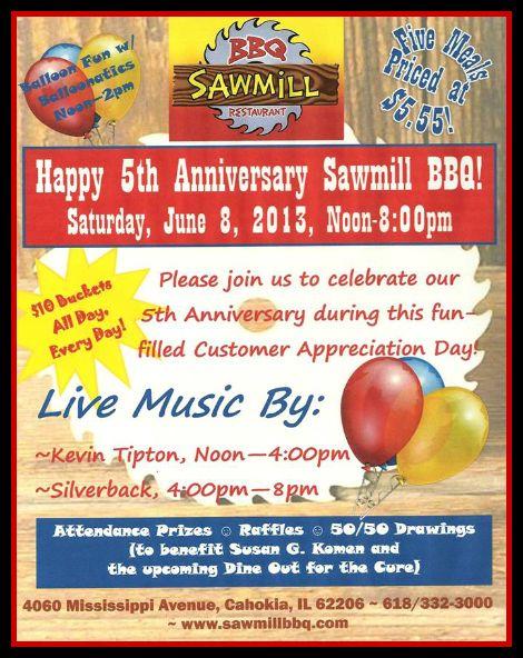BBQ Sawmill 6-8-13