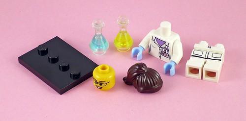 71002 LEGO Minifigures Series 11-11 Scientist 01