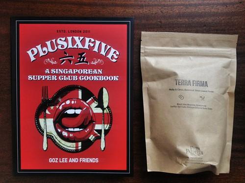 PlusSixFive Cookbook + Papa Palheta's Terra Firma