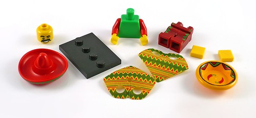 71004 LEGO Minifigures The LEGO Movie Series Taco Tuesday Man 01