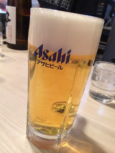 生ビール@蟹喰楽舞