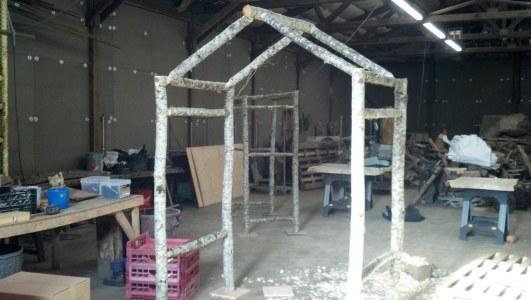 Gazebbo type wedding arch