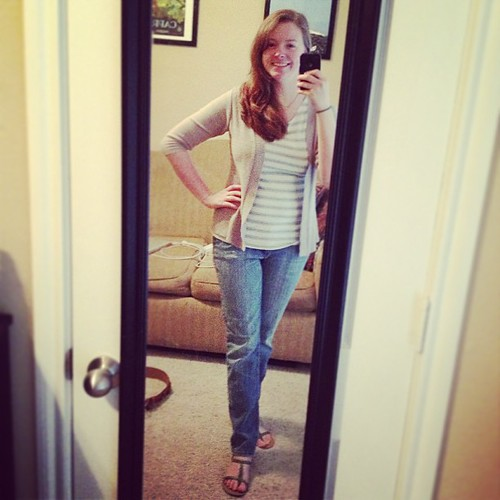 Casual Fribsday #ootd! Once again, everything from Target; I am a budget shopper :)