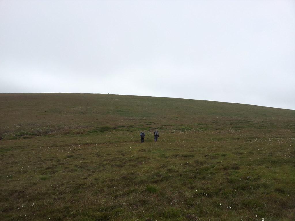 Heading for Axe Edge Moor