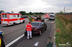 Auffahrunfall A3 Raunheim 27.08.13