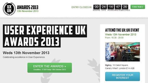 英國_使用者經驗_發展面面觀 UXUK Awards