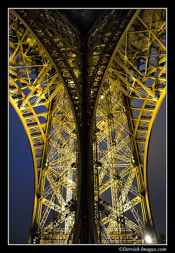 Eiffel Tower - Extract by Dervish Images