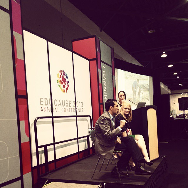 How can the solution improve student learning? Ask @tjoosten @amcollier & @Veletsianos #edu13