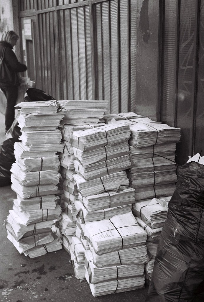 Kiev 4 - Ballots Prepared for the Elections