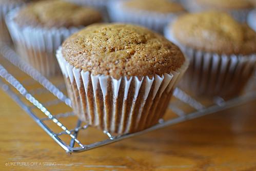Pumpkin Walnut Muffins