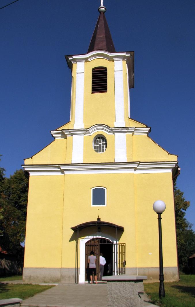 Kostol vo Veľkej Vsi n. Ipľom