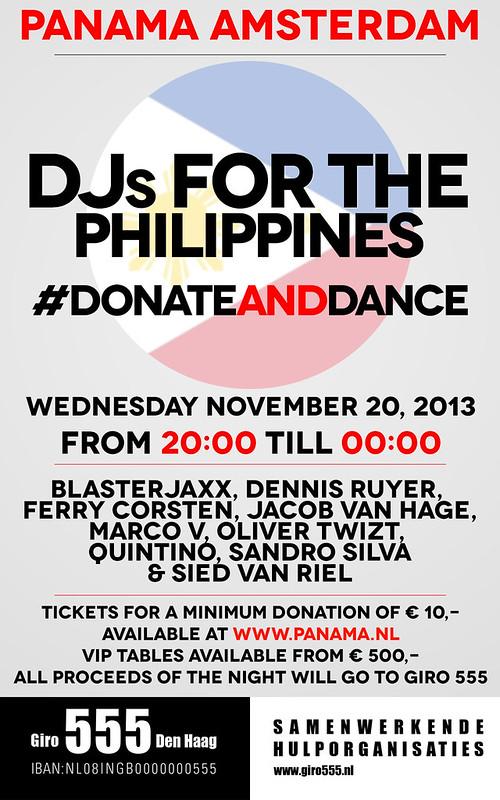 DJsForPhilippines-Flyer