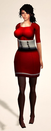 DK  Aug CF Retro Joanie Dress