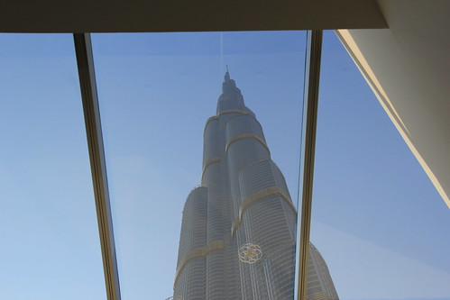 View of Burj Khalifa from Skylight, Dubai, UAE