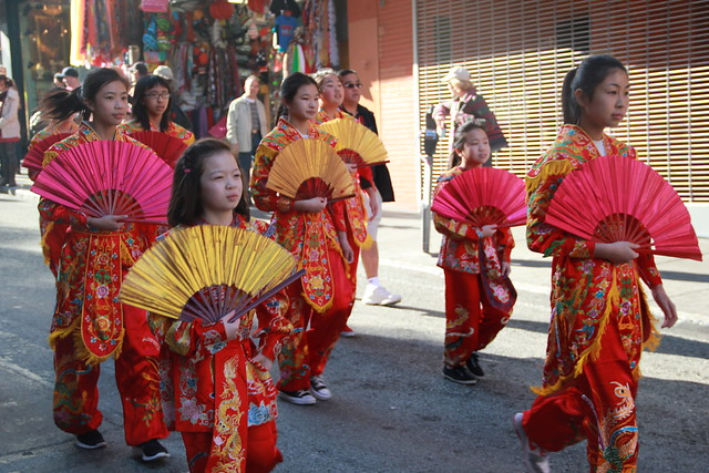 Chinese New Year Parade 2014 in SF Chinatown