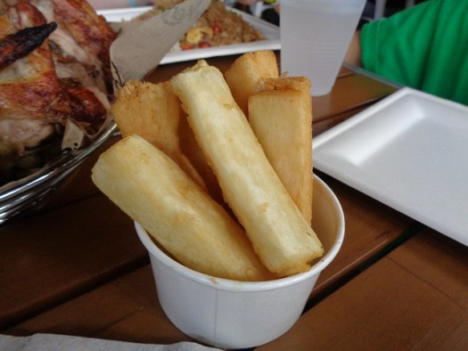 Fried Yucca, Viva Chicken, Charlotte NC