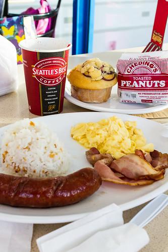 Breakfast at Laguindingan Airport