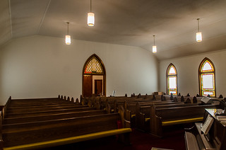 Liberty Springs Presbyterian Church Interior-001