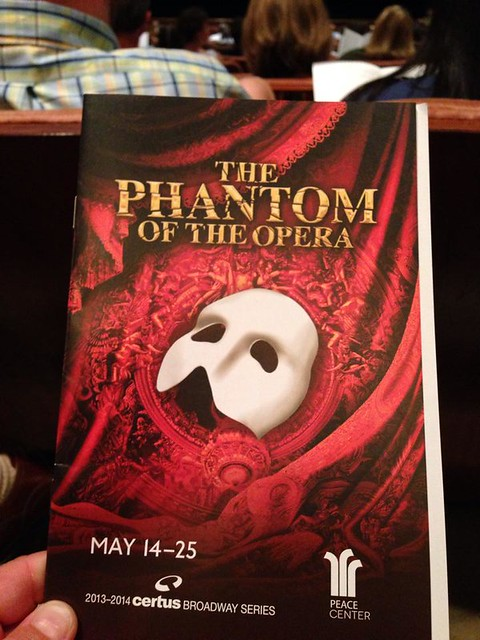 Phantom of the Opera Program
