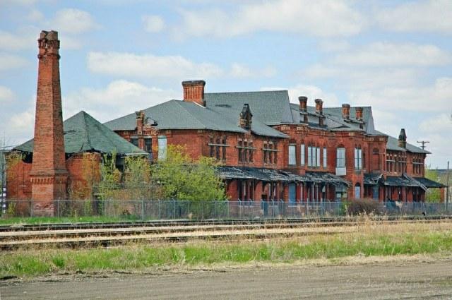 MI Saginaw Potter Street Depot 2011-5389