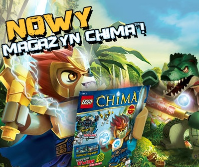 Legends of Chima Oficjalny Magazyn Reklama mail