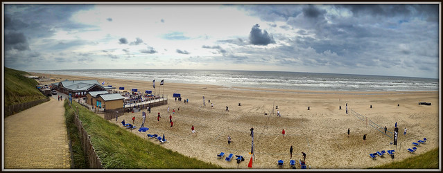 Tele2 beachvolleyball toernooi Zandvoort 27-06-2013.