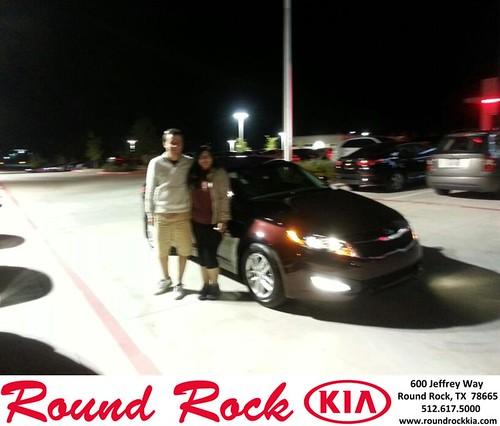 Thank you to Cassandra Cisneros on your new 2013 #Kia #Optima from Rudy Armendariz and everyone at Round Rock Kia! #NewCar by RoundRockKia