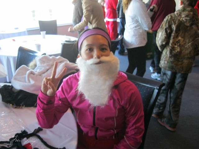 wearing my Santa beard