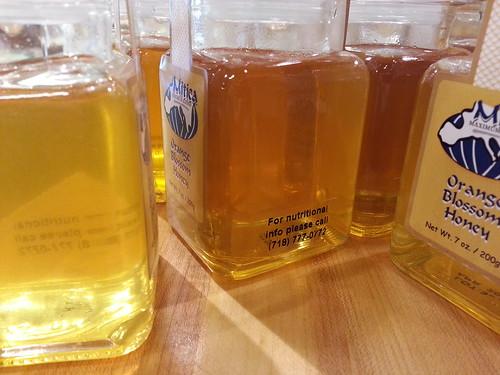 Light through honey