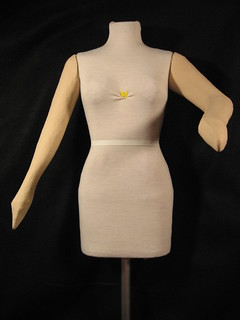 Dressform with arms front