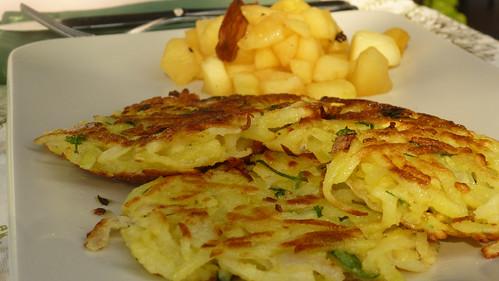 Gromperekichelcher - Potato Pancakes - Frittelle di patate
