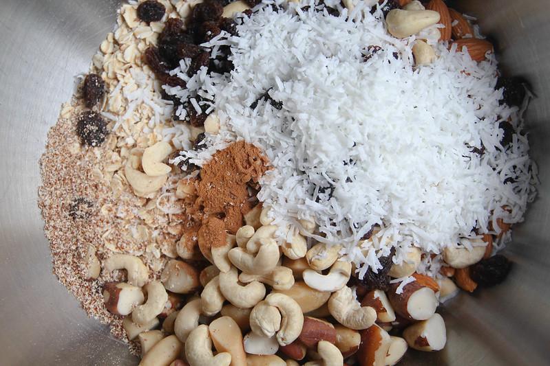 abc granola ingredients