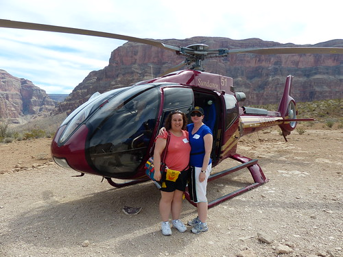 Our ride ... the only way to see the Grand Canyon!