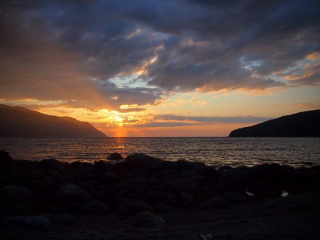 Wild Cove Sunset
