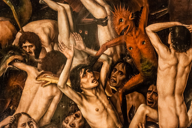 Fall of the Damned, Dieric Bouts, Lille, France, Le Palais Des Beaux Arts