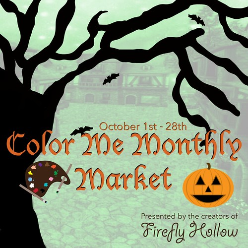 Color Me Monthly Market - October