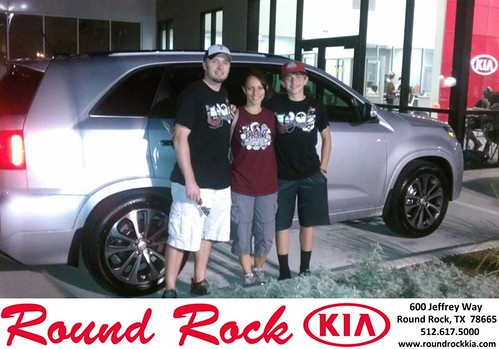 Thank you to Rafael Narvaez Jr on your new 2014 #Kia #Sorento from Shawn Ankrom and everyone at Round Rock Kia! #NewCarSmell! - Copy by RoundRockKia