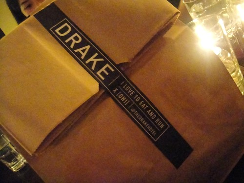 Drake One Fifty doggy bag