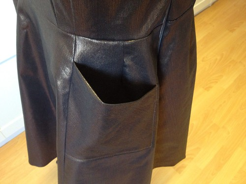 2013 party dress pocket
