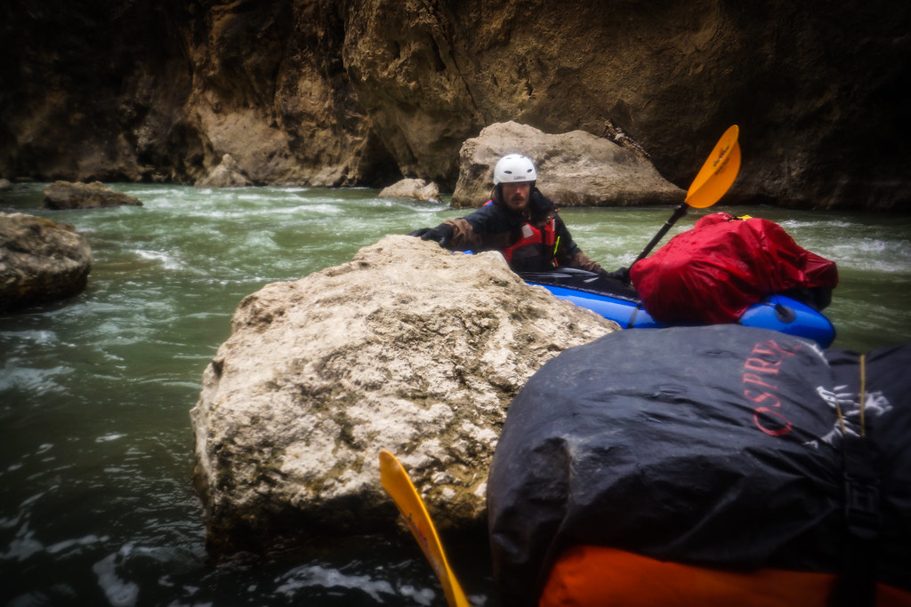 Tricky paddling in Zagros gorges