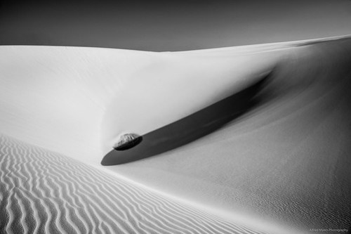 Areia, luz e sombras
