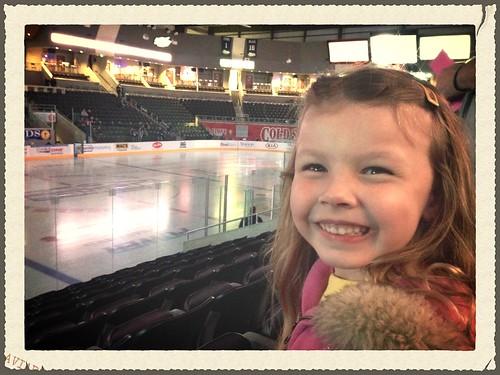 Hockey game!