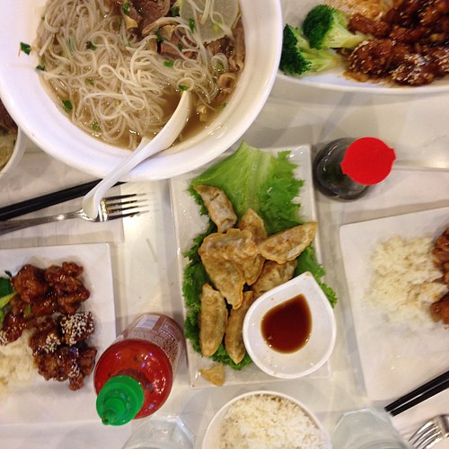 We bit off more than we can chew at joy yee noodle!