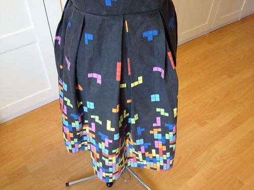 Tetris dress skirt