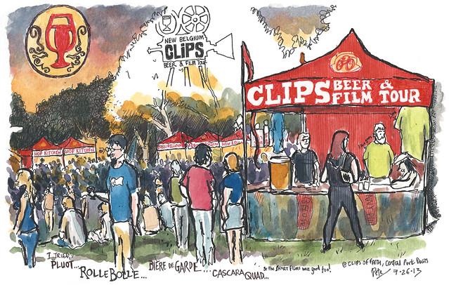 New Belgium Clips Beer & Film Tour 2013