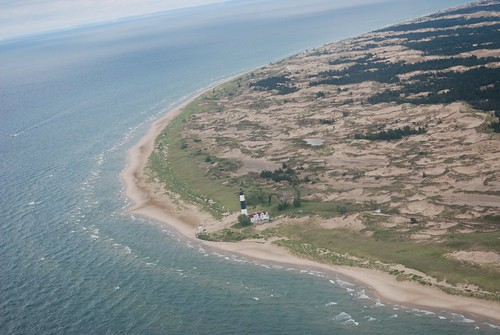 Big Sable Point from 2,000 feet