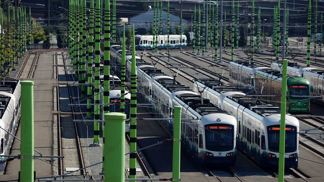 Sound Transit Light Rail Operations and Maintenance Facility in SODO