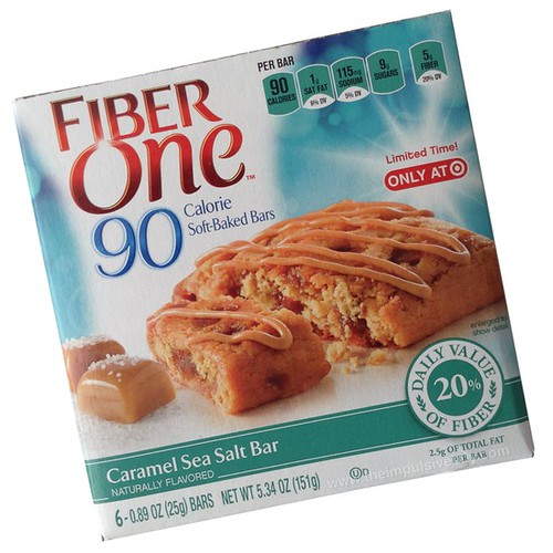 Fiber One Caramel Sea Salt 90 Calorie Soft-Baked Bars