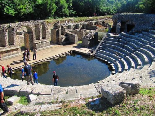 Butrint, Roman Amphitheater