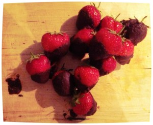chocolade-aardbeien